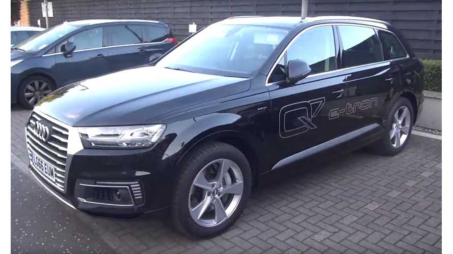Audi Q7 e-tron 3.0 TDI Quattro Overview And Test Drive – Video