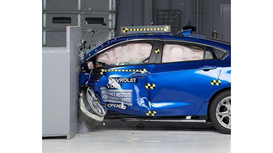 2017 Chevrolet Volt A Top Safety Pick+ According To IIHS (w/video)