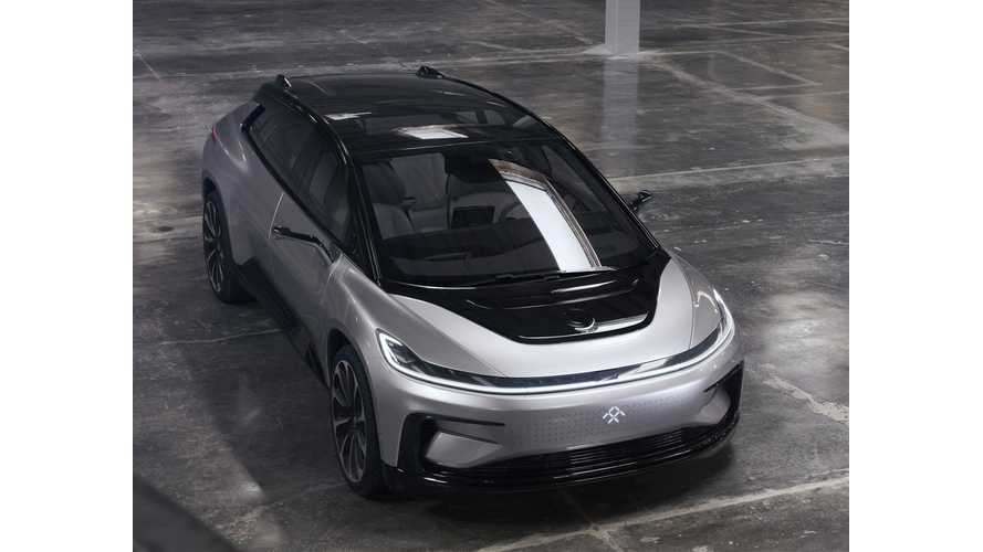 Up Close Look At Faraday Future FF 91 - Videos