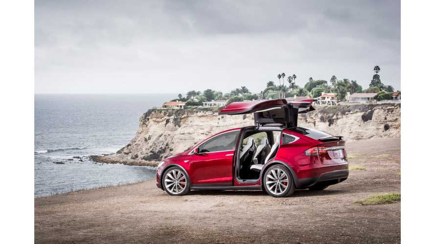 Car And Driver Tests Tesla Model X P90DL