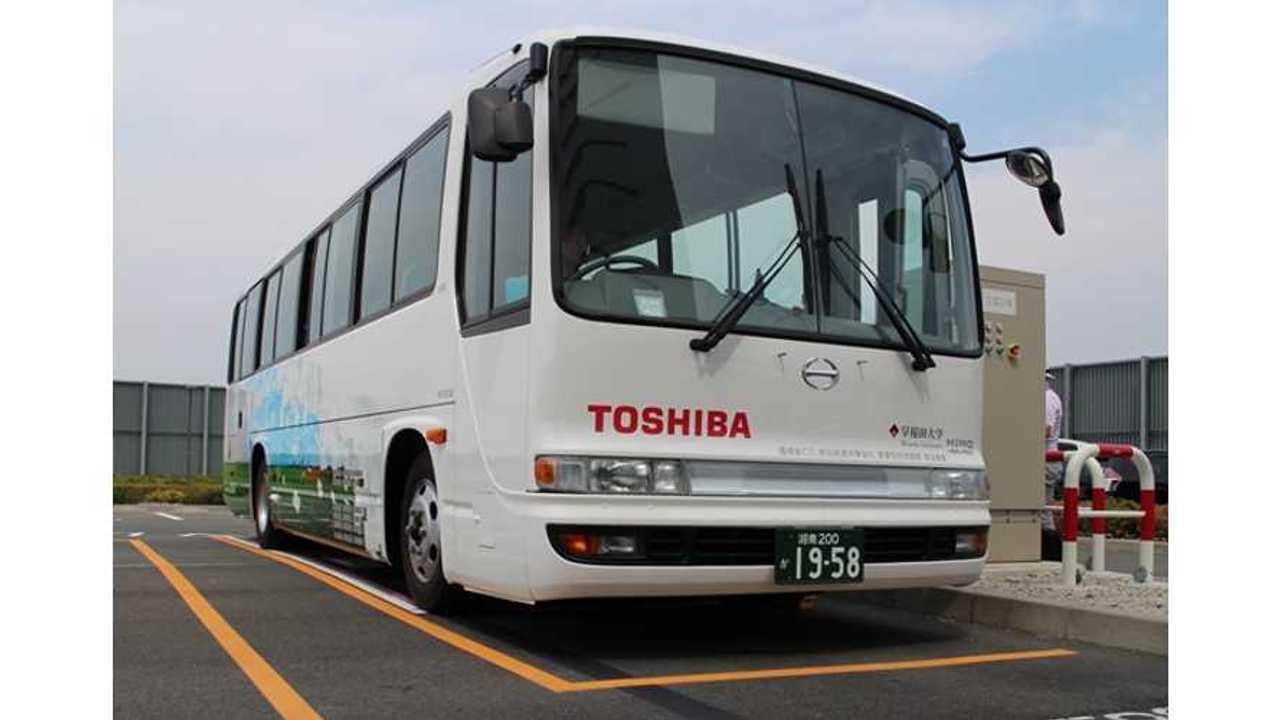 EV bus with Toshiba SCiB batteries