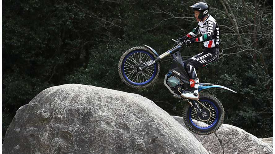 Yamaha Unveils New Electric Trials Bike
