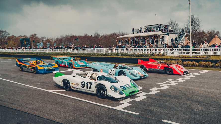 "Porsche feiert ""50 Jahre 917"" in Goodwood"