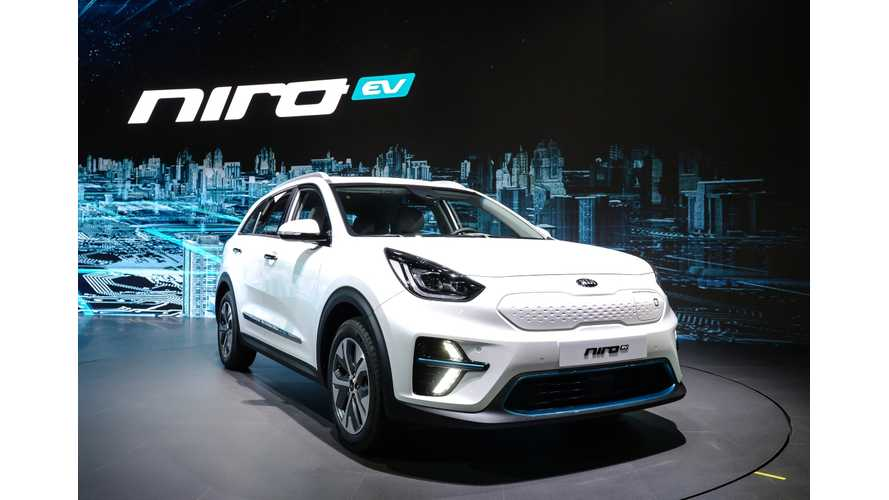 Kia Niro EV Gets Proper Debut In Korea, New Specs Released