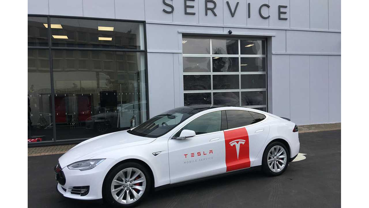 Tesla Claims 80% Of Repairs To Its Cars Can Be Done In The Field