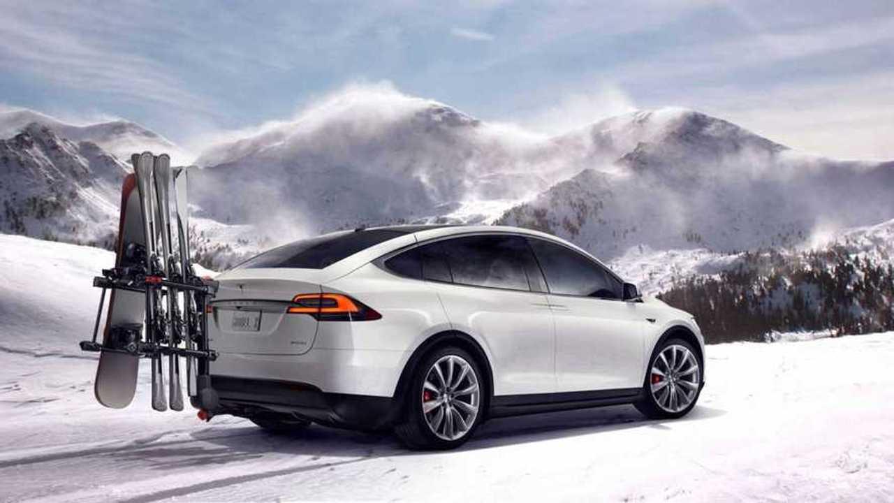 Winter Fun In Colorado In A Tesla Model X