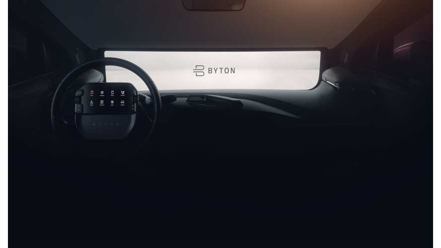 BYTON Releases New Interior Teaser Image Of Electric SUV