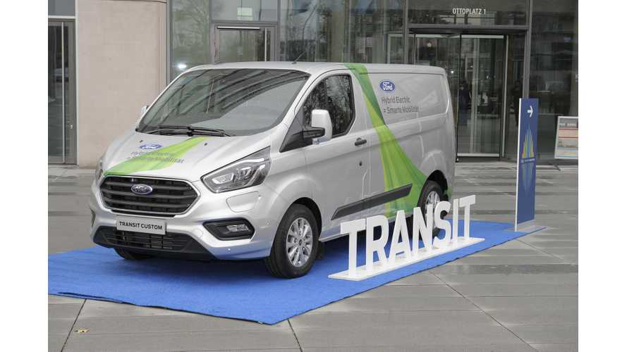 Ford Transit Custom PHEV To Be Tested In Cologne, Germany