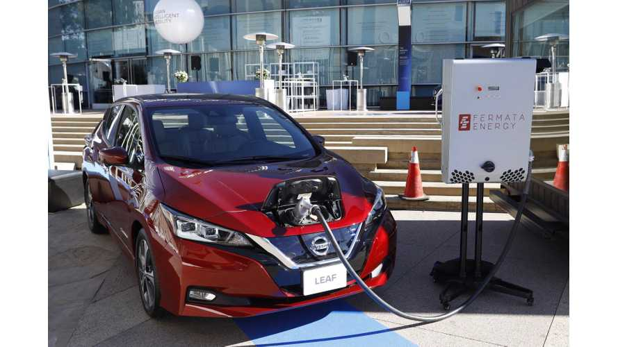 Nissan LEAF Powers Up Automaker's U.S. Headquarters