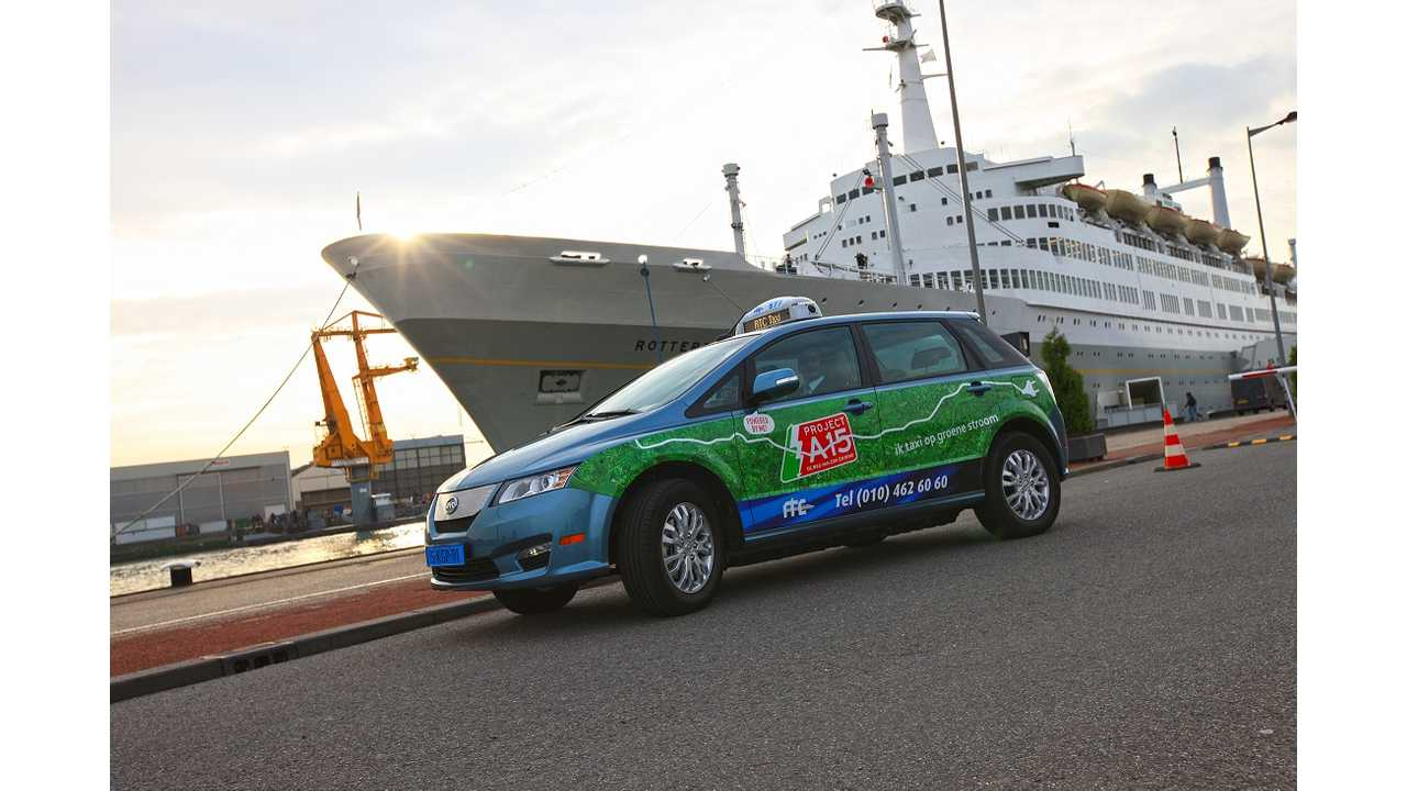 Rotterdam To Add 22 More Electric BYD e6 Taxis