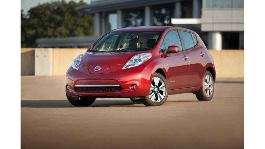 U.S.-Built Nissan LEAF Is Shipped To Canada, Mexico, Korea and... Japan