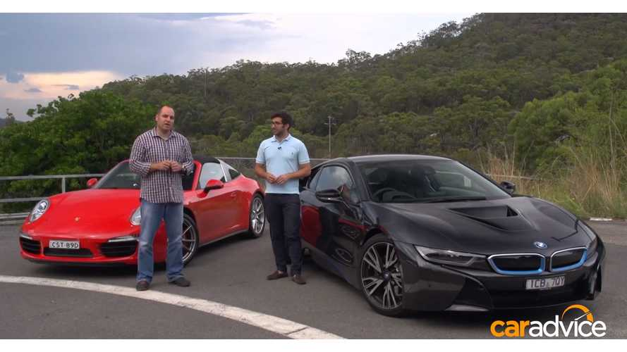 Porsche 911 Targa & BMW i8 - Video