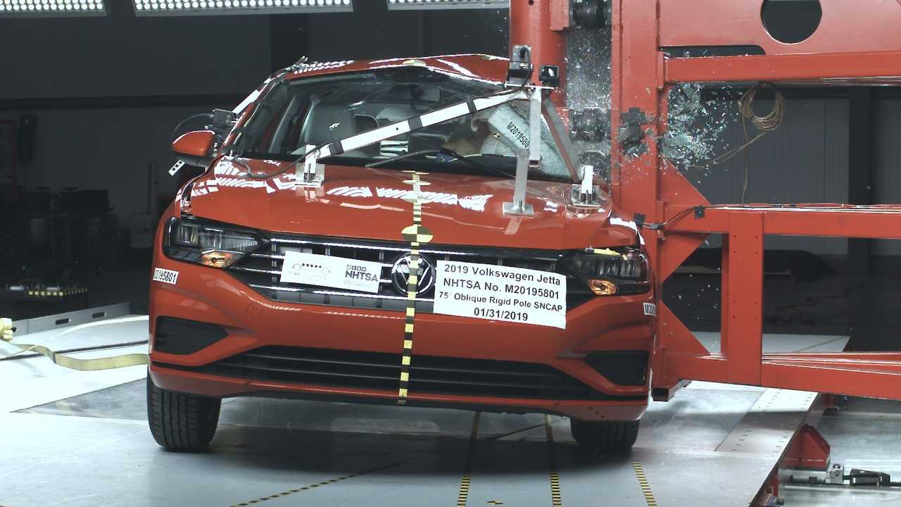 Volkswagen Jetta 2019 - Crash-test do NHTSA