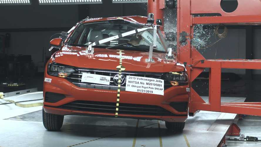 Volkswagen Jetta 2019 conquista nota máxima em teste de colisão