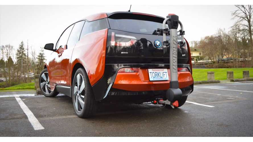 BMW i3 With Torklift Central Stealth Ecohitch - Installation Video