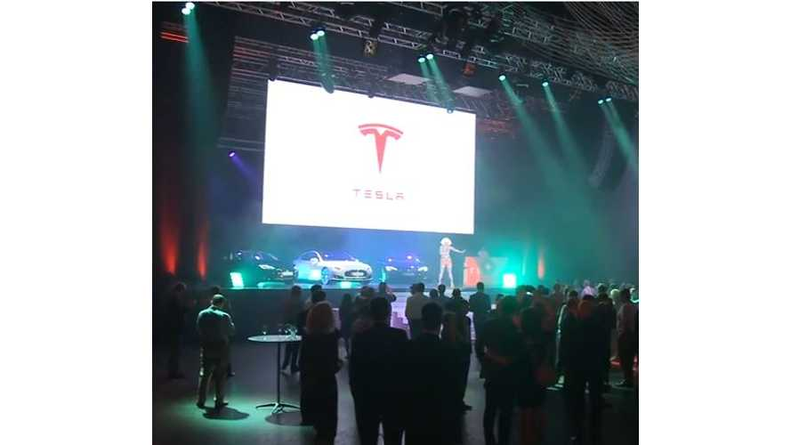 Tesla Australia Launch Event - Video