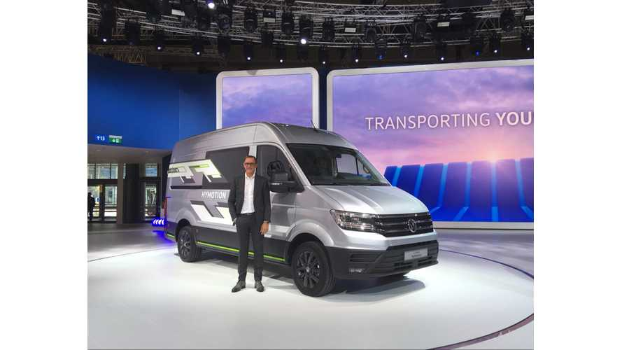 VW Reveals Electric ABT e-Transporter, e-Caddy, Crafter & More