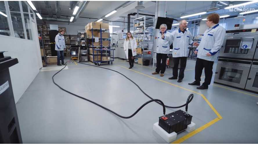 Skeleton Technologies Presents Ultracapacitors In Fully Charged - Video