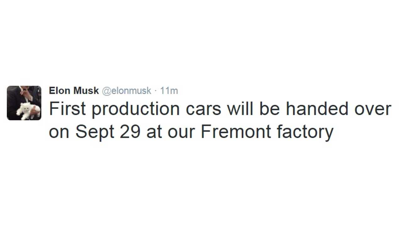 First Model X Deliveries To Happen On September 29th <a href=