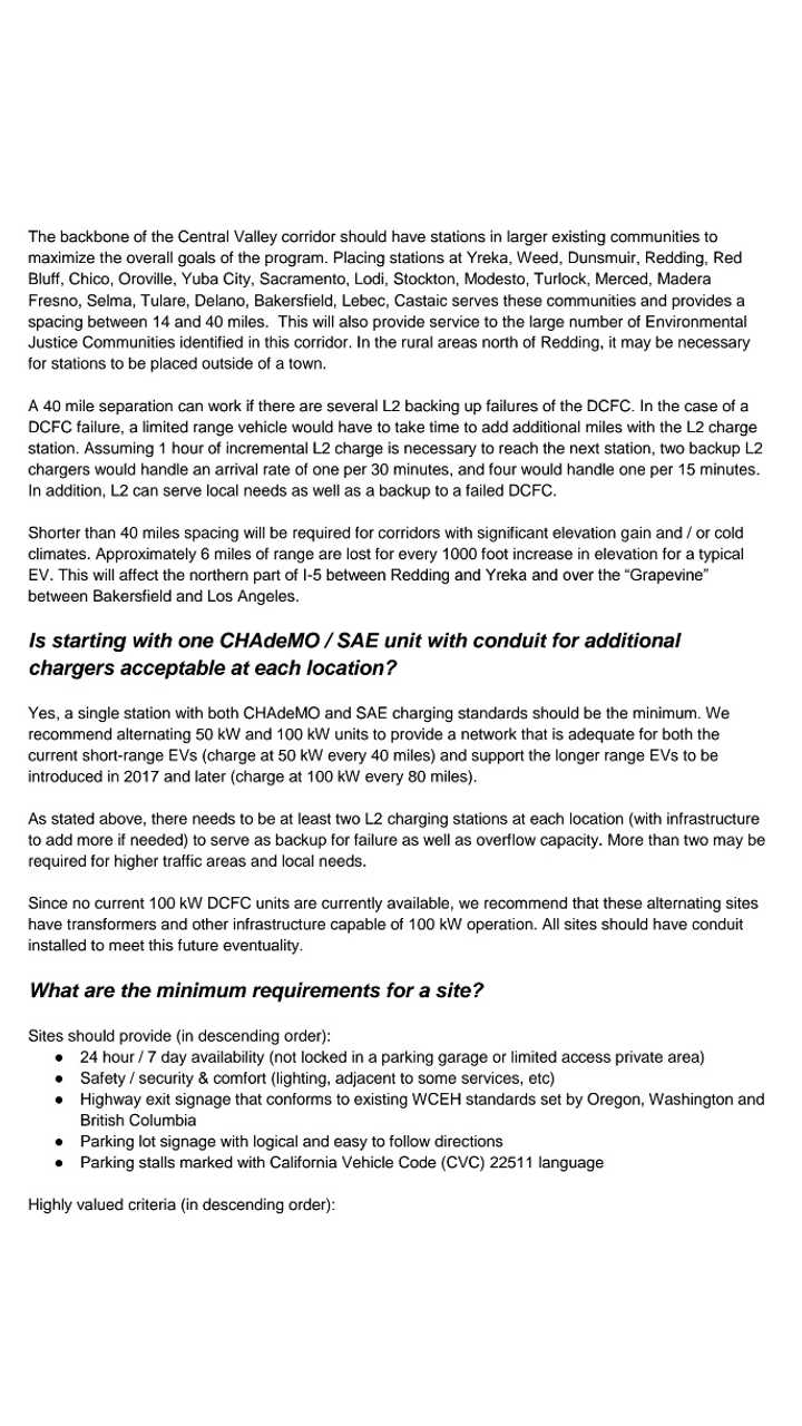 Open Letter Re: West Coast Electric Highway - Page 3