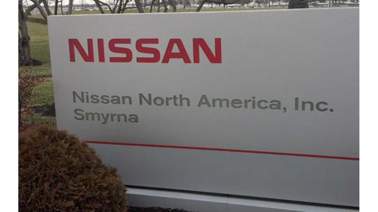 Starting In 2013, All LEAFs For The US Are Made In America At Nissan's Smyrna, TN Facility