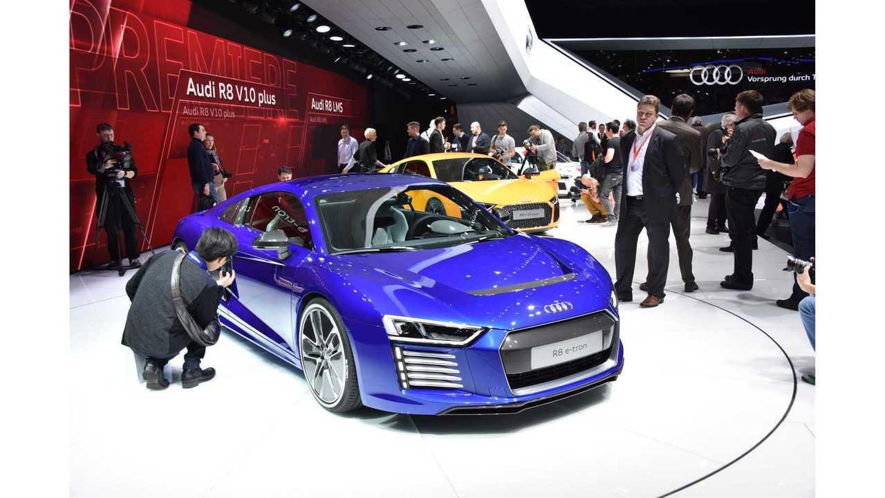Audi R8 e-tron Test Drive Review