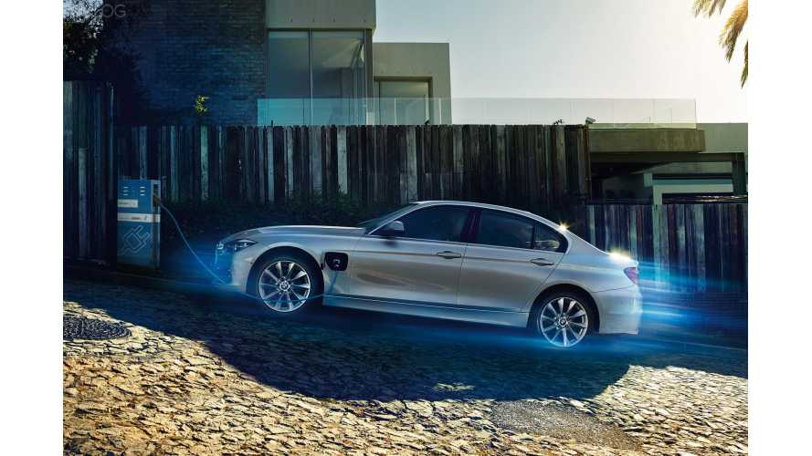 First Images Of BMW 330e Plug-In Hybrid + Video