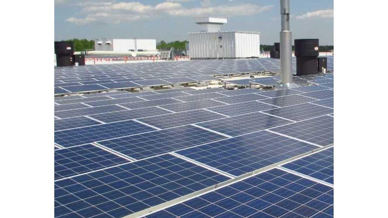 Chevrolet Spark EV Motor Factory Now Boasts 1.23 MW Solar Array - Video