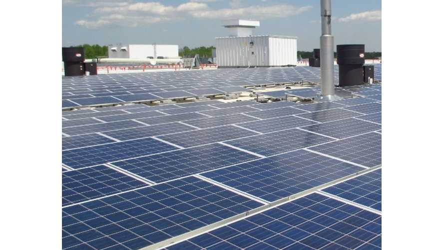 Chevrolet Spark EV Motor Factory Now Boasts 1.23 MW Solar Array - Video