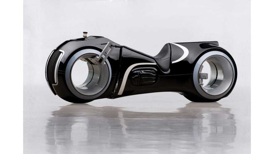 TRON Lightcycle Sells For $77,000 At Auction