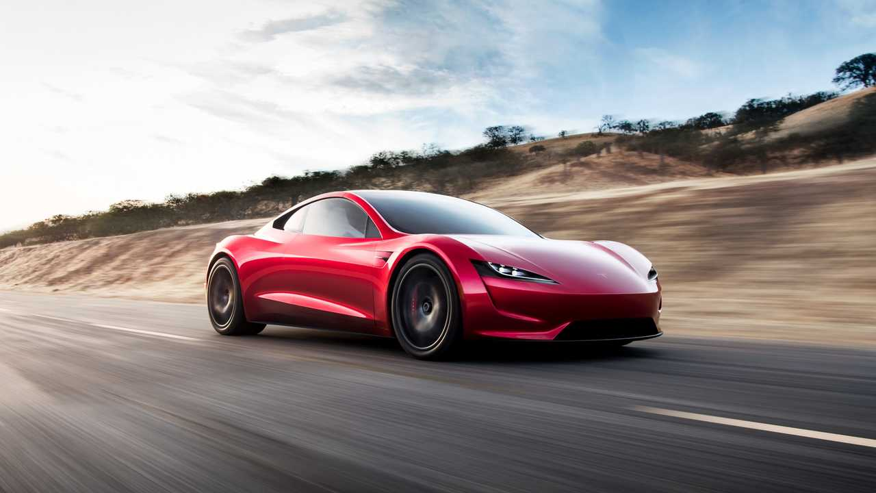 New Tesla Roadster