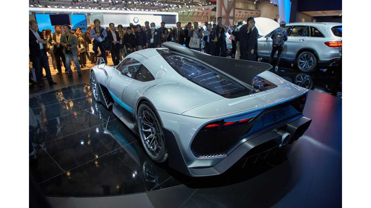 Mercedes-AMG Project One Reservation Up For Sale For $5.2 Million