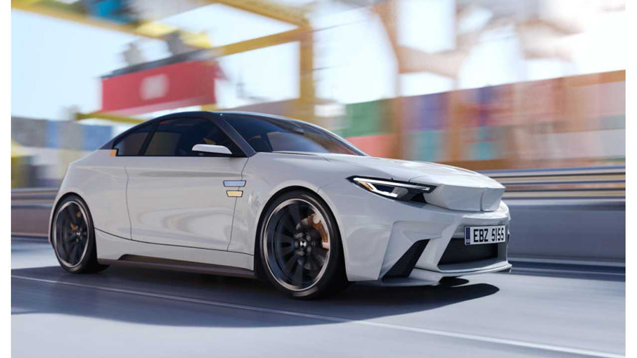 BMW iM2 Electric Render Is Wacky, But Awesome