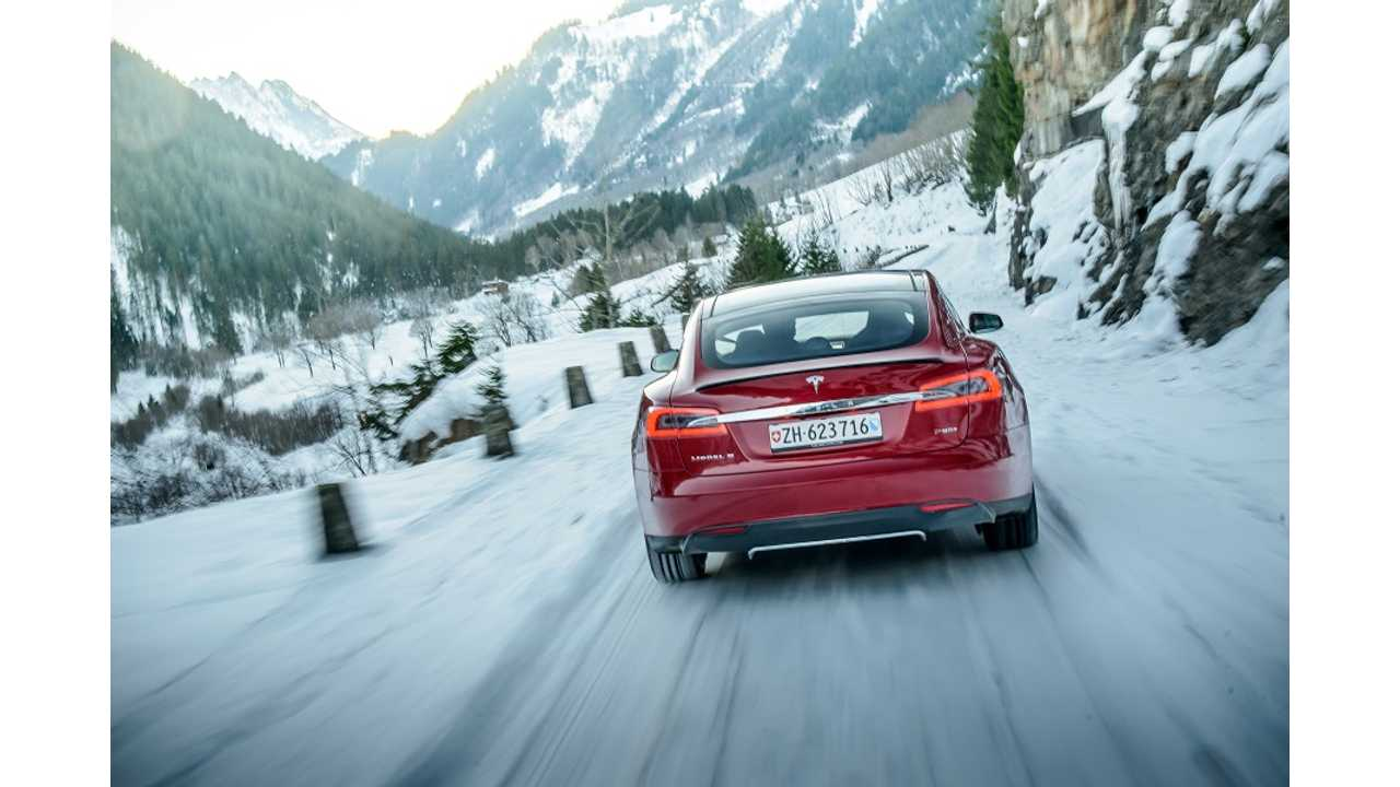 Musk Says RWD Tesla Model 3 Surprisingly Good In Snow With Right Tires