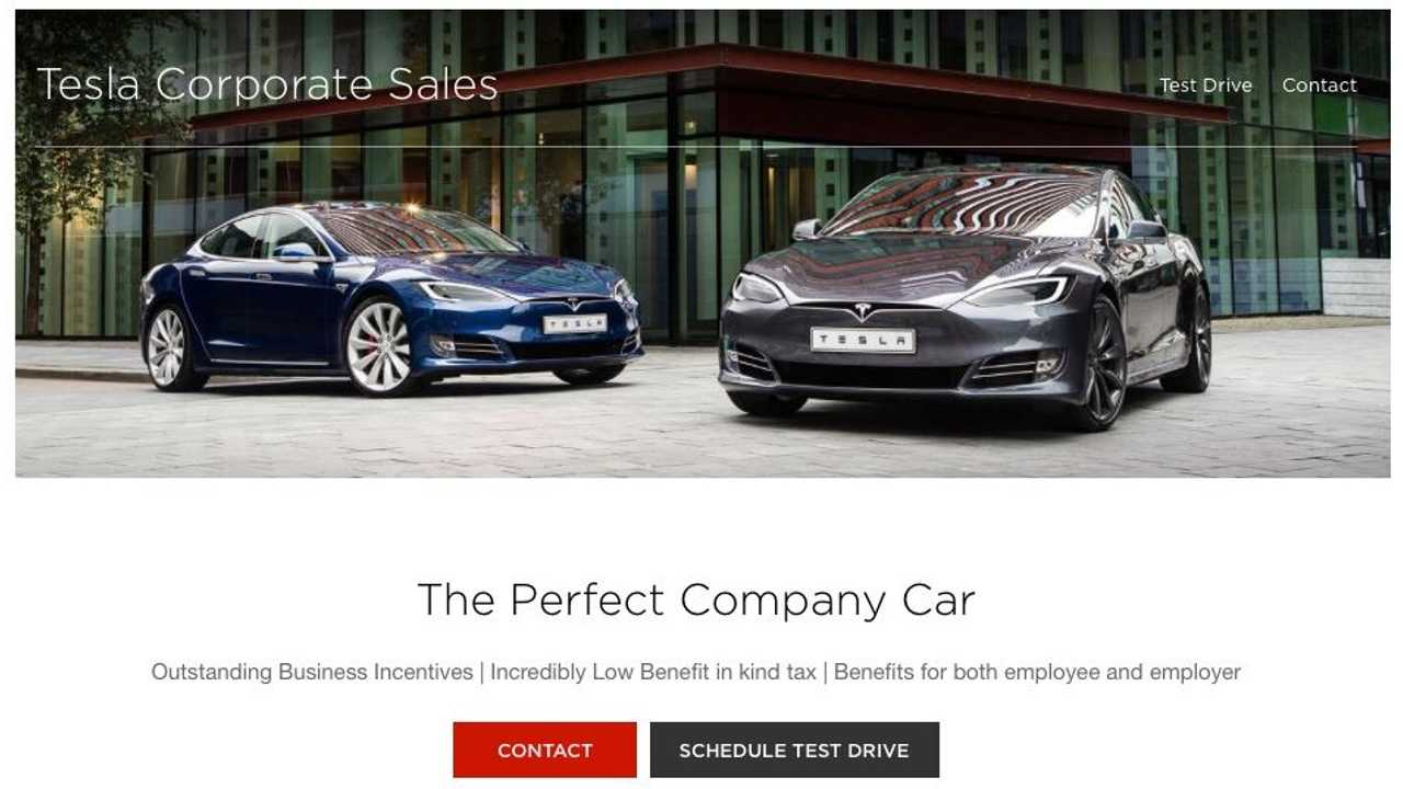 Tesla Launches Corporate / Fleet Sales Site For S & X