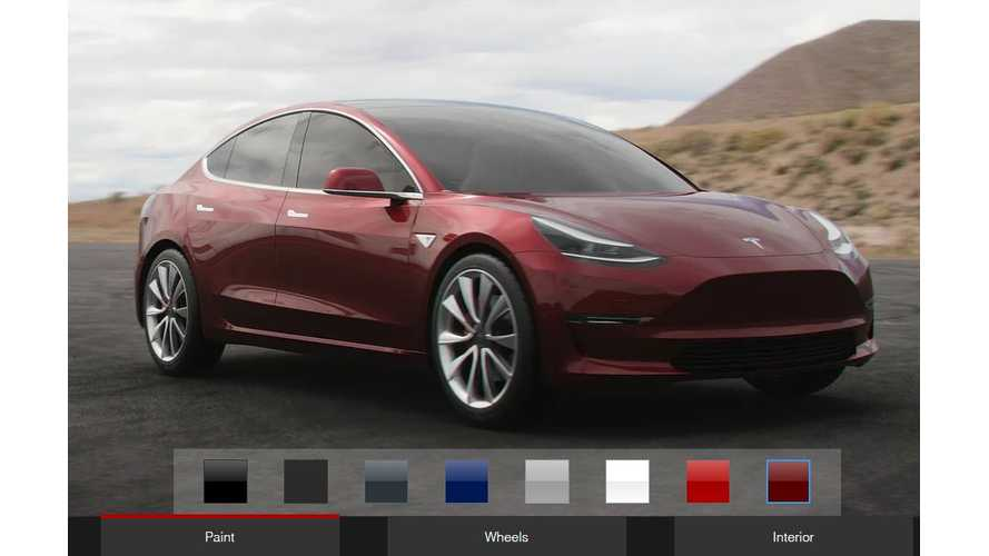 Tesla Model 3 Config Lets You Design Your Car Before Official Configurator Launches