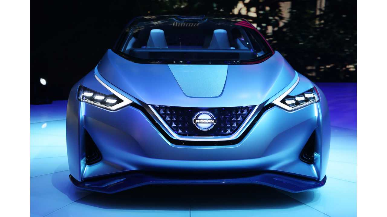 Nissan Ids Concept Foreshadows Look Of Next Generation Leaf Which Debuts In September