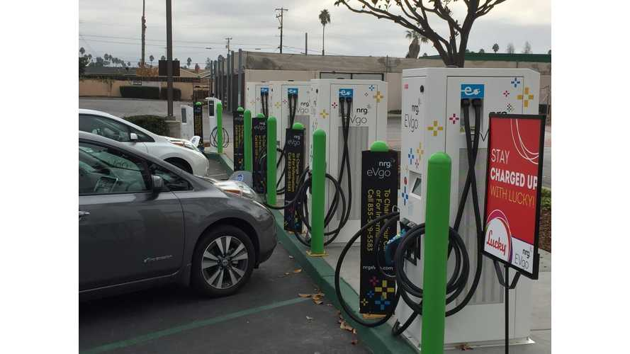 EVgo Launches Freedom Station With 4 Multi-Standard Fast Chargers
