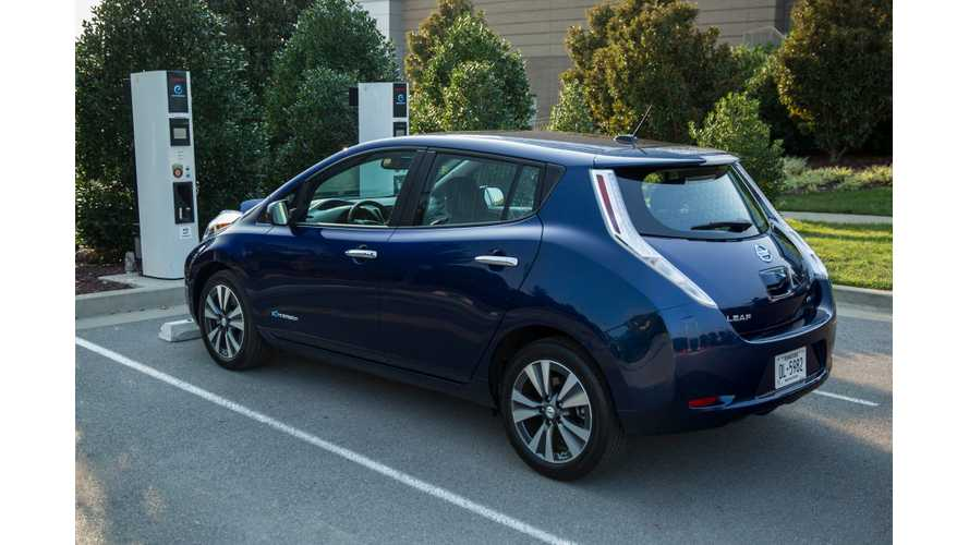 Minneapolis-St. Paul Added To Nissan's No-Charge-To-Charge LEAF Program