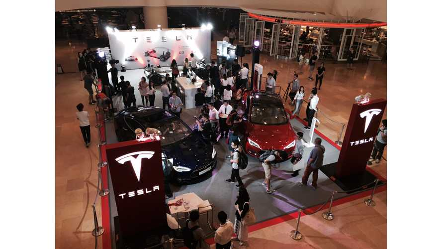 Tesla Hong Kong - Model S Dual Motor Launch Event at Pop-Up Store