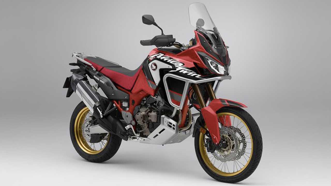 2020 Honda Africa Twin 1100 Renders