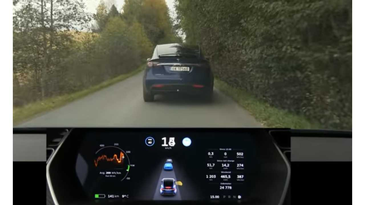 According to Tesla, Autosteer will not function unless you are traveling 18 mph or faster.