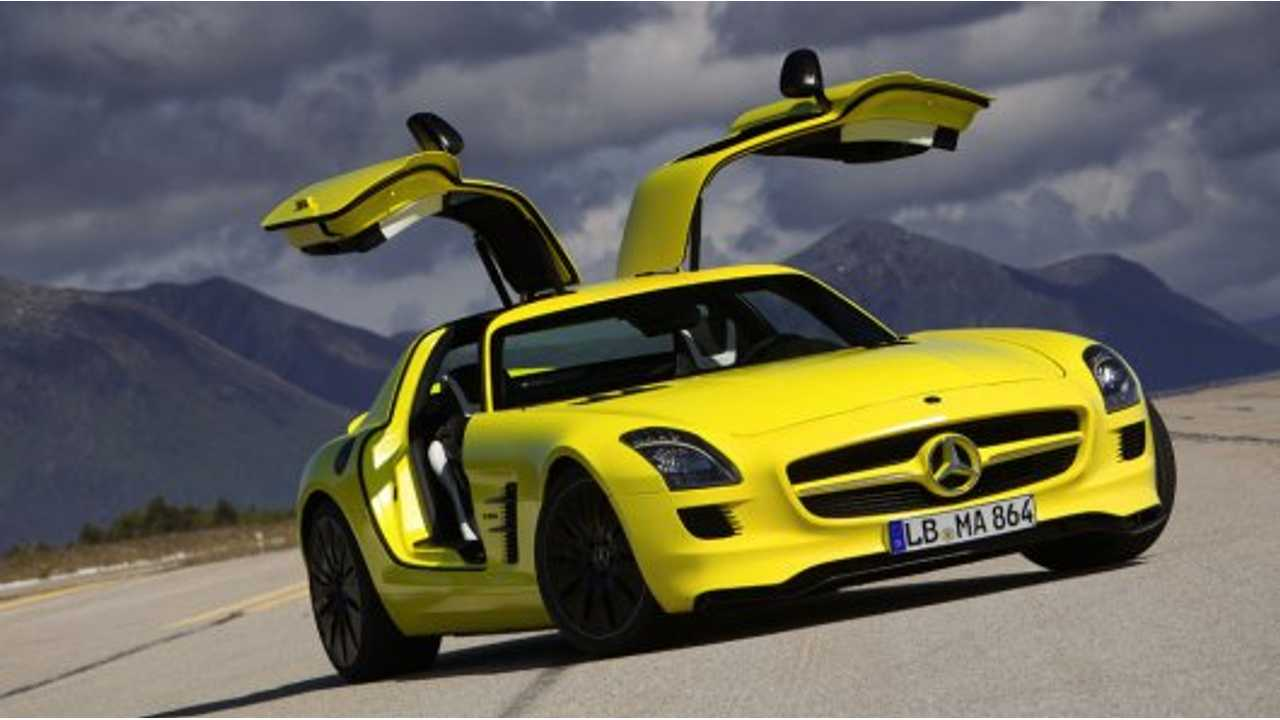 Pure Electric Mercedes-Benz AMG Variants A Future Possibility