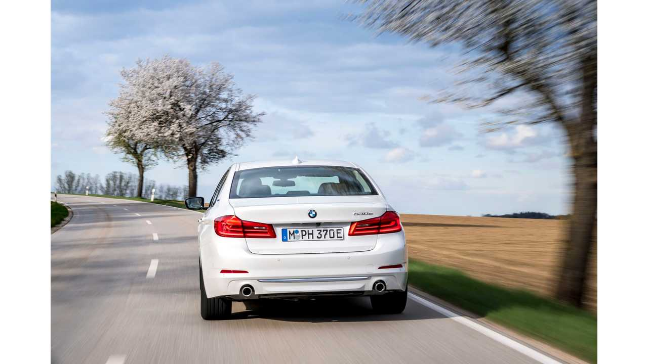 BMW Plug-In Vehicle Sales Up 43% In April, 25,000 Delivered YTD