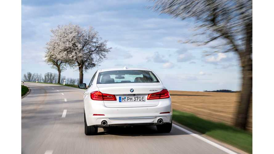 BMW Plug-In Vehicle Sales Up 43% In April, 25,000 Delivered YTD