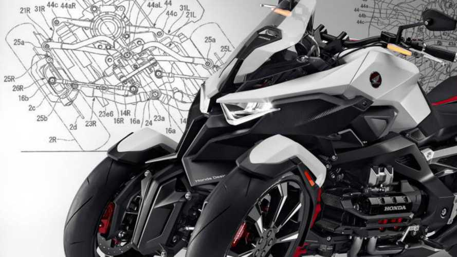 Honda: la risposta alla Niken potrebbe essere ibrida