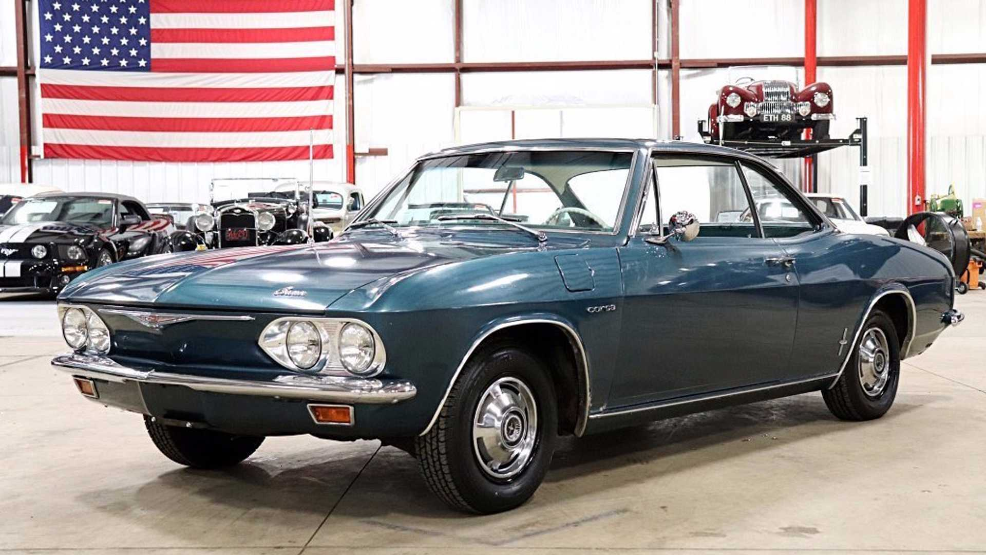 "[""Original And Rare: 1965 Chevrolet Corvair Corsa Turbo Coupe""]"