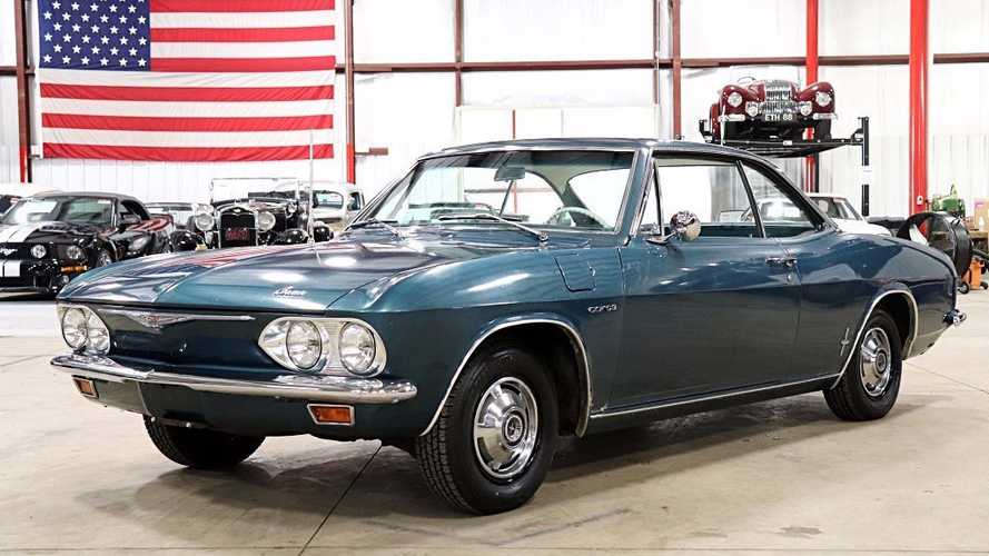 Original And Rare: 1965 Chevrolet Corvair Corsa Turbo Coupe