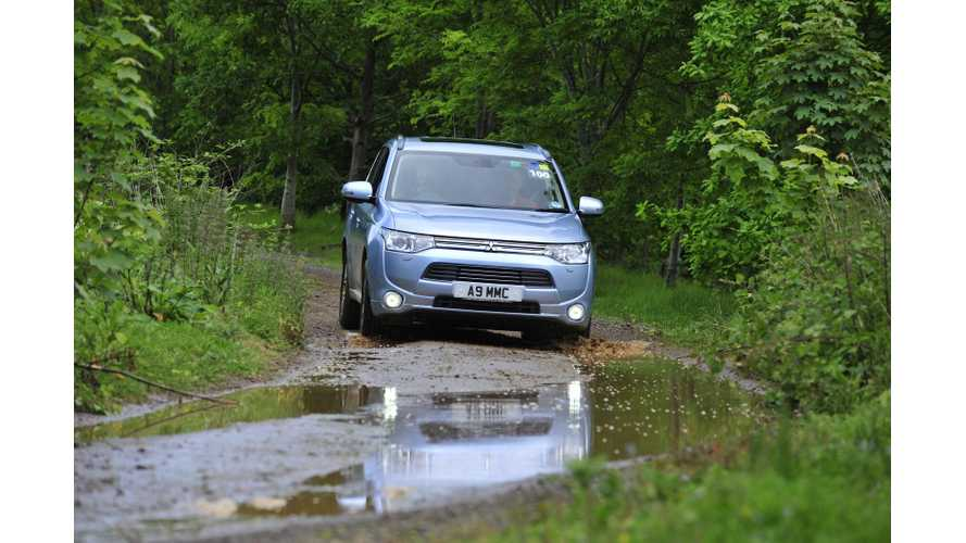 Mitsubishi Outlander PHEV Global Sales Surpass 26,000 (94% in Japan and Netherlands)