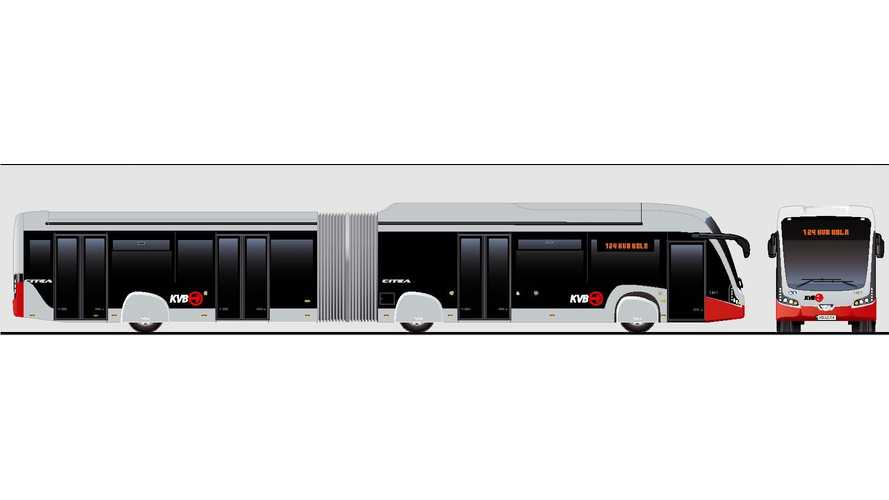 VDL Bus & Coach Announce First Electric Articulated Buses For KVB Cologne